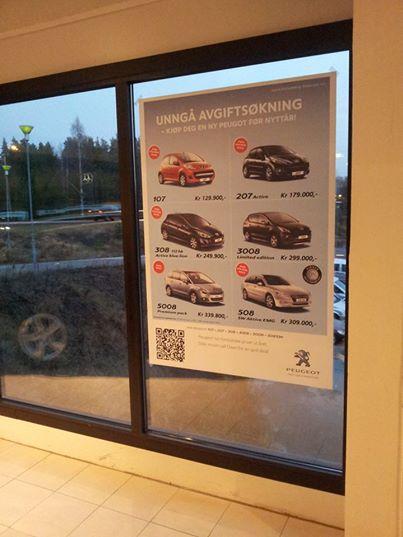 kongsberg_bilsenter_plakat